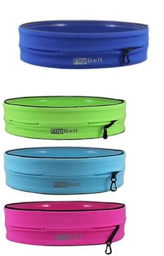 Running Belts 179802: Running Workout Exercise Belt Fitness Flipbelt® Large Size Fanny Pack Royal BUY IT NOW ONLY: $33.59