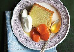 Pound Cake with Grand Marnier–Poached Apricots - Bon Appétit