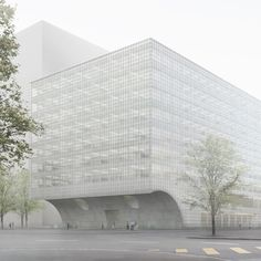 Caruso St John reveals designs for university laboratory in Basel