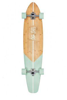 Ten Toes Board Emporium Zed Bamboo Longboard Skateboard Cruiser