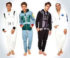 Star Wars Adult Onesies | If you're looking for themed Christmas pajamas...lol...