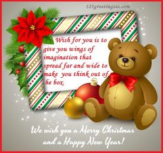 14 best happy christmas wishes 2016 images on pinterest christmas new year card for kids happy christmas wishes 2016merry m4hsunfo