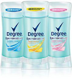 Degree Deodorant For Women Ad