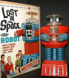 Remco Lost in Space Robot