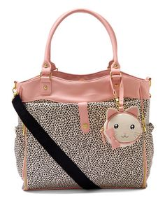 Another great find on #zulily! Bone & Black Roll Out Diaper Bag #zulilyfinds