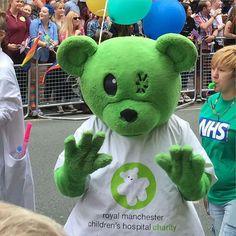 Poor teddy! #Manchester #mancspride #lgbtqia #pride