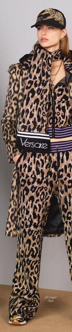~ Pre-Fall 2018 Versace ~ | pb/Sugar Tart | vogue.com