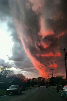 Clouds In Hampton Roads