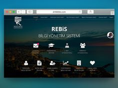REBIS Menu Screen (redesign) by Uygar Aydın