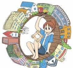Keiichi Arawi, el autor de Nichijou, lanzará el Manga CITY el 29 de septiembre.