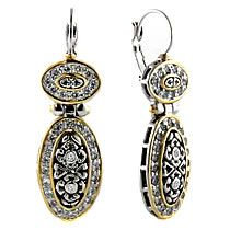 Filigree Double Oval French Wire Earrings, John Medeiros Jewelry $140