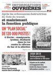 Editoriaux d'informations Ouvrières - Parti Ouvrier Indépendant Comité de Vitrolles
