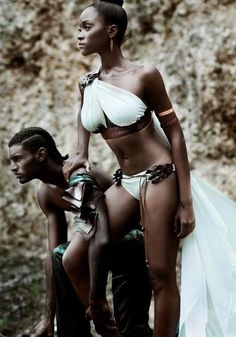 Dark skinned women are beautiful....