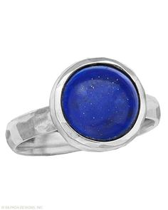True Blue Ring, Rings - Silpada Designs (Lapis, Sterling Silver) Item # R3053 $39 (Whole sizes 5-11)