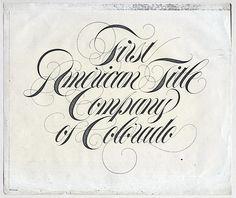 Sundwall type - American Title