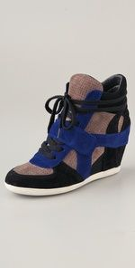 platform sneakers- love @Nine West