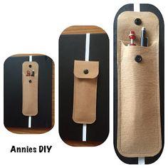 Annies DIY: Kleines Stifteetui aus SnapPap