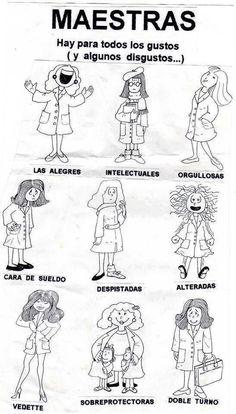 TIPOS DE Maestras