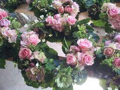 Bord dekorationer til bryllup