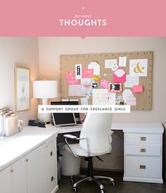 A support group for freelance girls | Betty Red Design