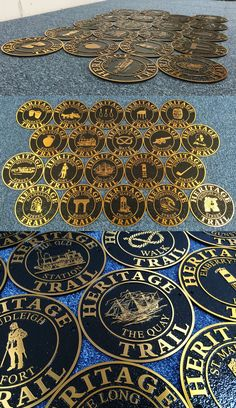 Cast bronze plaques, house signs and grave markers from The Sign Maker. Cast in bronze using traditional methods for yet the design is created by modern technology.