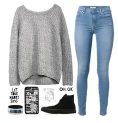 """""""Untitled #491"""" by chill-outfits ❤ liked on Polyvore featuring Converse and xO Design"""