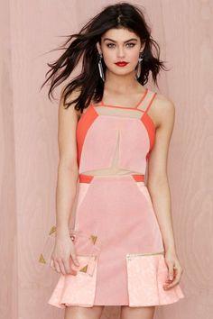 Three Floor Modern Muse Mesh Dress | Shop Clothes at Nasty Gal!