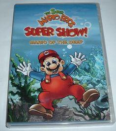 FREE SHIPPING - THE SUPER MARIO BROS SHOW - DVD