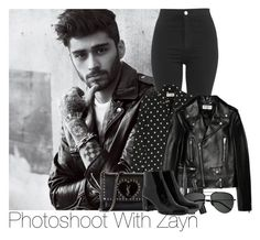 """""""Photoshoot With Zayn"""" by laurenbeth15 ❤ liked on Polyvore featuring Topshop, Yves Saint Laurent, Marc Jacobs, zaynmalik and 7YearsOfOneDirection"""