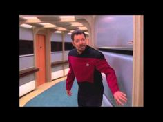 Watch Riker Chase The Ensigns In This Gag Reel For 'Star Trek: The Next Generation' - HILARIOUS!