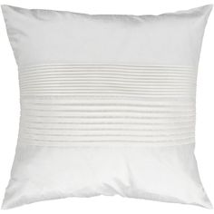 Mercer41 Grullo Solid Pleated Throw Pillow Cover & Reviews | Wayfair 18 x 18 $11.99 WINTER