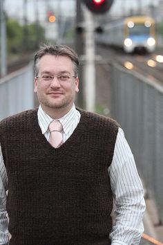 Free Knitting Pattern - Men's Vests: Humphrey Vest