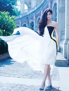 Sonam Kapoor's photoshoot for Hi! Blitz magazine. #Bollywood #Fashion #Style #Beauty