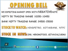 Good Morning. #Stock #Market Opening Bell 14 March. Visit us for profitable #stocktips www.zoidresearch.com