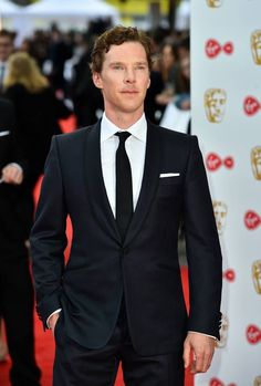 Benedict Cumberbatch. 2017 BAFTA TV Awards. May 14, 2017.
