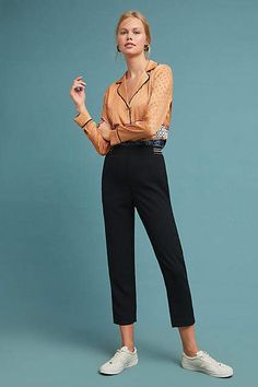 48465204dc0c Essentials by Anthropologie The Essential Slim Trousers #ad #AnthroFave #AnthroRegistry  Anthropologie #Anthropologie