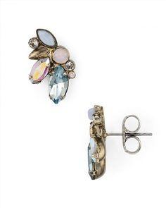 55.00$  Buy now - http://vistm.justgood.pw/vig/item.php?t=1ks8la129112 - Sorrelli Rainbow Stone Stud Earrings