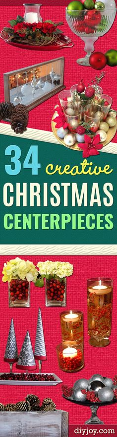 ideas for diy christmas decorations dollar store decor mason jars Christmas Pine Cones, Outdoor Christmas, Christmas Diy, Christmas Costumes, Christmas Stocking, Simple Christmas, Party Table Centerpieces, Simple Centerpieces, Centerpiece Ideas