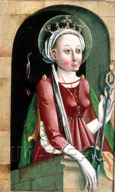 Hl. Apollonia 1460-1465; Salzburg; Österreich; Salzburg Museum http://tarvos.imareal.oeaw.ac.at/server/images/7001496.JPG