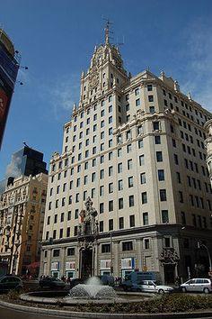 Telefonica. Madrid. El primer rascacielos. 1929