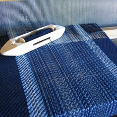 Starry Night  Cotton Bamboo Woven Table by PurpleDesignStudio, $45.00