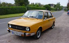 Škoda 105 - 1976-1990 Old Models, Old Cars, Hot Rods, Vehicles, Vintage Cars, Motors, Vehicle, Street Rods, Tools
