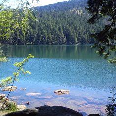Černé jezero ve městě Železná Ruda, Plzeňský Prague, Czech Republic, Beautiful Landscapes, Poland, River, Mountains, Places, Nature, Outdoor