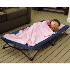 My Cot -Portable Travel Bed  One children's cot, so many uses! Take this portable cot to Grandma's, day care, sleepovers—even big sister's soccer games!