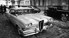 1958 Ford Edsel - 361ci (5.9L) or 410ci (6.7L) V8 Pushrod-OHV engines