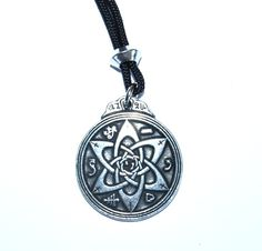 Talisman for Poets and Writers Pendant - Celtic Pewter Jewellery