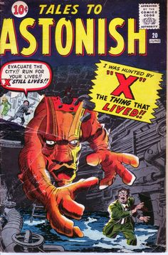 Tales To Astonish #20