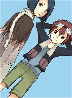 Jogress Friendship. by mixy-shiru