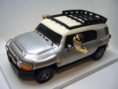 Toyota FJ Cruiser cake
