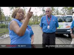 Franklin Graham Visits Areas Affected by Hurricane Florence - YouTube Billy Graham Evangelistic Association, Franklin Graham, Samaritan's Purse, Natural Disasters, Florence, Youtube, Youtubers, Florence Italy, Youtube Movies